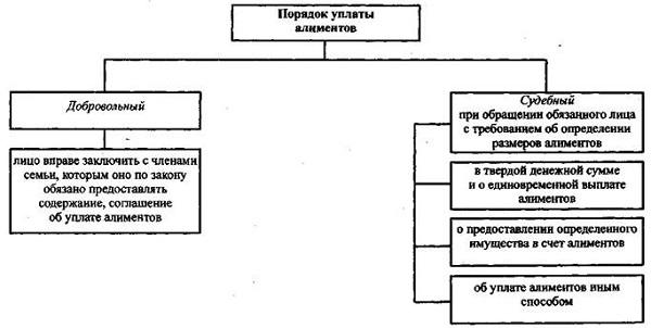 Прекращение алиментных обязательств: основания, порядок